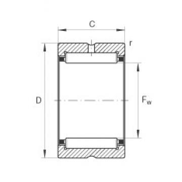 China Factory Single Row Inch Needle Bearing NK24/16 NKI20/16